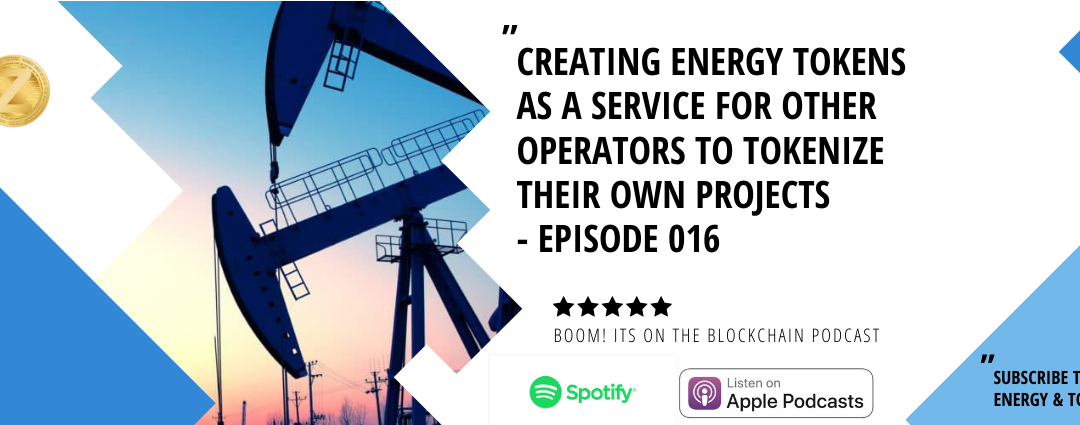 Creating Energy Tokens as a service for other operators to tokenize their own projects
